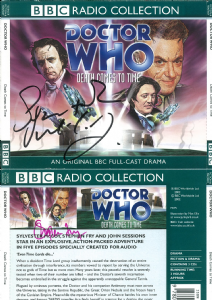 The Curse of Peladon signed by Katy Manning